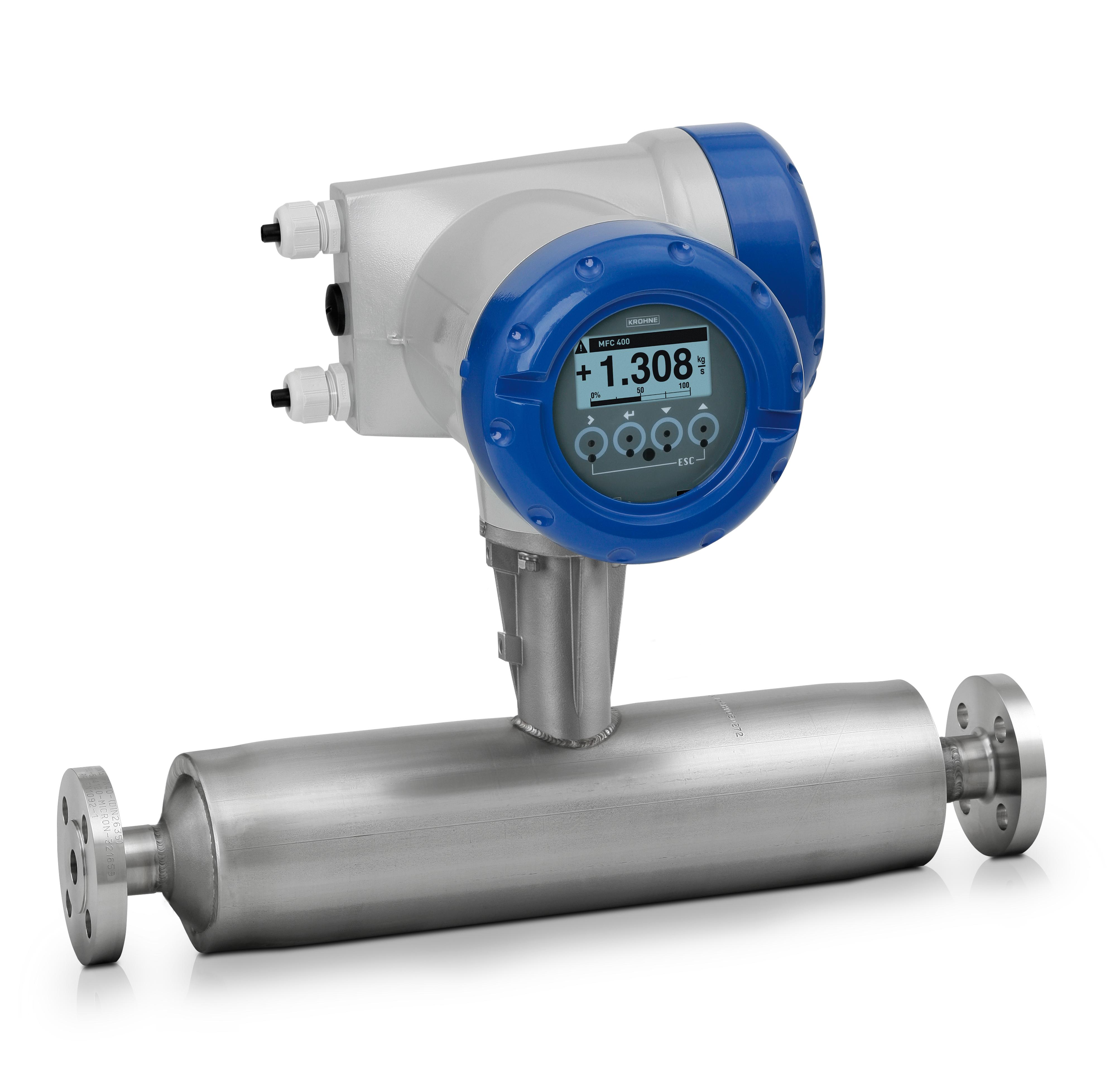 Aller à Nouveau débitmètre massique OPTIMASS 1400 - La gestion bi-phasique sur bi-tubes droits